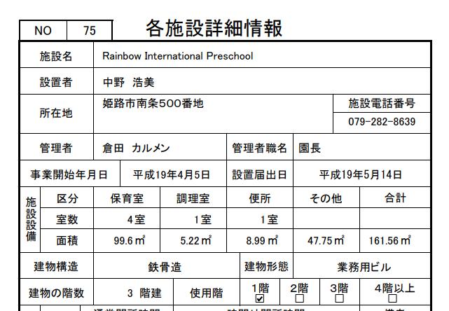 Rainbow International Preschool
