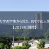 日本大学の学生から見た、おすすめ人気学部はどこ?【2019年調査】