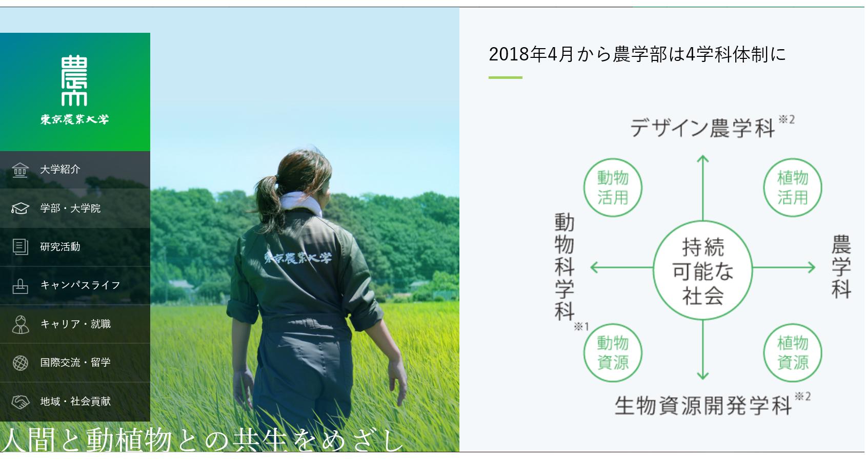 東京農業大学の評判・口コミ【農学部編】