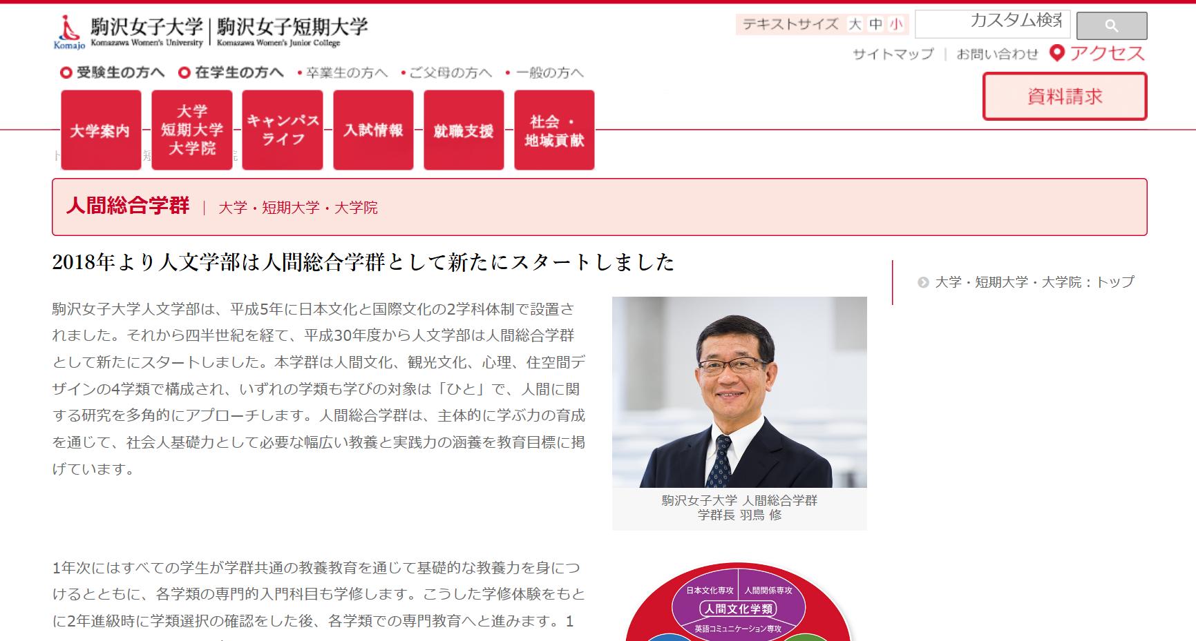 駒沢女子大学の評判・口コミ【人間総合学群編】